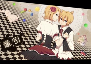 Rating: Safe Score: 6 Tags: chi_yu dress kagamine_len kagamine_rin vocaloid User: charunetra