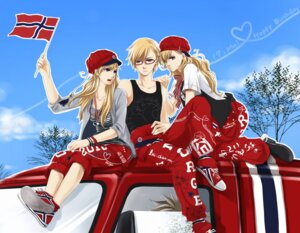 Rating: Safe Score: 8 Tags: denmark genderswap hetalia_axis_powers megane norway sando_akato User: Radioactive