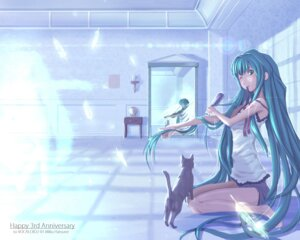 Rating: Safe Score: 15 Tags: hatsune_miku neko tattoo vocaloid User: Humanpinka
