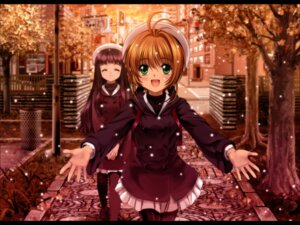 Rating: Safe Score: 20 Tags: card_captor_sakura daidouji_tomoyo kinomoto_sakura moonknives wallpaper User: blooregardo