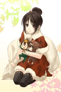 Rating: Safe Score: 9 Tags: christmas eto_ichika hakuouki thighhighs yukimura_chizuru User: Radioactive