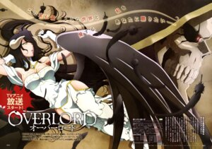 Rating: Questionable Score: 48 Tags: albedo_(overlord) cleavage horns overlord wings User: drop