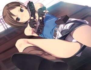 Rating: Questionable Score: 74 Tags: gun jill_valentine pantsu resident_evil uni User: vistigris