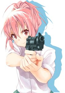 Rating: Safe Score: 58 Tags: body_mahattaya_ginga gun sabagebu! sonokawa_momoka weapon User: blooregardo