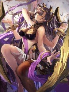 Rating: Safe Score: 24 Tags: bikini_armor manichi monster_girl see_through thighhighs User: Mr_GT