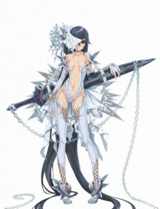 Rating: Questionable Score: 85 Tags: ayaki cleavage sword thighhighs User: Radioactive