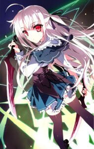 Rating: Safe Score: 51 Tags: absolute_duo seifuku thighhighs tsurusaki_takahiro weapon yurie_sigtuna User: donicila