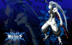 Rating: Safe Score: 4 Tags: arc_system_works armor blazblue blazblue:_calamity_trigger hakumen male mori_toshimichi sword wallpaper User: HaruhiSuzumiya