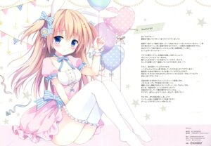 Rating: Questionable Score: 24 Tags: animal_ears bunny_ears cleavage dress izumi_nanase thighhighs User: Radioactive