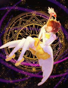 Rating: Safe Score: 22 Tags: card_captor_sakura dress kinomoto_sakura kuri_kinoko thighhighs weapon User: charunetra