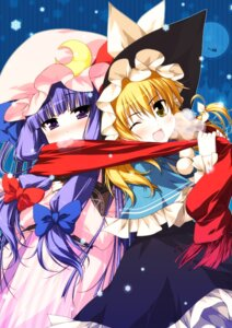 Rating: Safe Score: 13 Tags: kirisame_marisa patchouli_knowledge purupurusan touhou User: Mr_GT