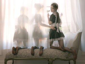 Rating: Safe Score: 42 Tags: ass cg feet maid pantyhose tagme User: saemonnokami