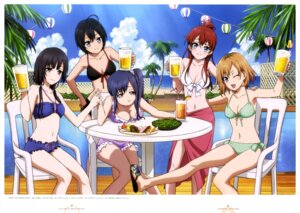 Rating: Questionable Score: 52 Tags: bikini cleavage imai_midori miyamori_aoi sakaki_shiinaka satou_youko shirobako swimsuits toudou_misa yasuhara_ema User: drop