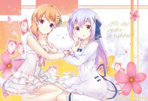 Rating: Safe Score: 52 Tags: dress gochuumon_wa_usagi_desu_ka? hoto_cocoa jugatsu_junichi kafuu_chino tippy_(gochuumon_wa_usagi_desu_ka?) User: KazukiNanako