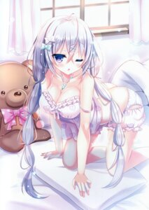 Rating: Questionable Score: 73 Tags: bloomers cleavage lingerie nae-nae shirt_lift User: kiyoe