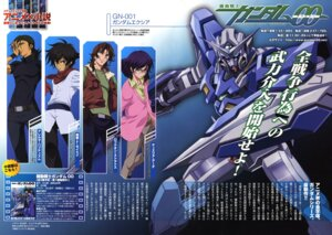 Rating: Safe Score: 7 Tags: allelujah_haptism gundam gundam_00 lockon_stratos male mecha neil_dylandy setsuna_f_seiei tieria_erde yoneyama_kouhei User: vita