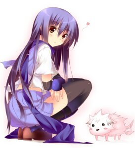 Rating: Safe Score: 45 Tags: angel_beats! kuwashima_rein seifuku shiina thighhighs User: SubaruSumeragi