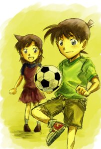 Rating: Safe Score: 5 Tags: detective_conan kudou_shinichi lucky-dog1 mouri_ran soccer User: charunetra