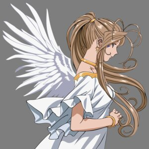 Rating: Safe Score: 25 Tags: ah_my_goddess belldandy transparent_png vector_trace wings User: gohanrice