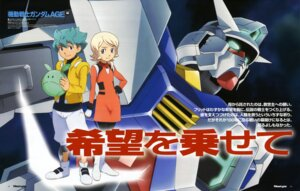Rating: Safe Score: 3 Tags: chiba_michinori emily_amonde flit_asuno gundam gundam_age haro mecha ootsuka_ken User: Radioactive