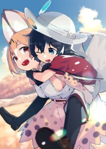 Rating: Safe Score: 14 Tags: animal_ears kaban_(kemono_friends) kemono_friends mizu_asato pantyhose serval User: Mr_GT