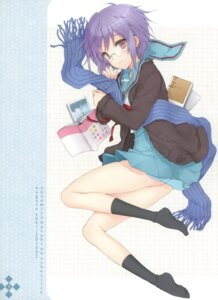 Rating: Safe Score: 58 Tags: cuteg megane nagato_yuki seifuku strawberry_pink suzumiya_haruhi_no_yuuutsu User: Aurelia