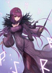 Rating: Safe Score: 22 Tags: cleavage dress fate/grand_order pantyhose scathach_skadi weapon yasu_(segawahiroyasu) User: Dreista