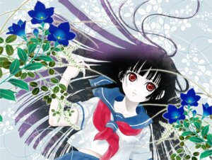 Rating: Safe Score: 9 Tags: enma_ai jigoku_shoujo yoiyoi User: charunetra
