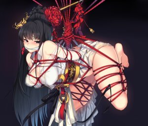 Rating: Questionable Score: 62 Tags: bondage dungeon_fighter japanese_clothes mendou_kusai no_bra nopan open_shirt see_through tagme User: hiroimo2