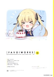 Rating: Safe Score: 7 Tags: 6u chibi neko saenai_heroine_no_sodatekata sawamura_spencer_eriri seifuku sweater User: kiyoe