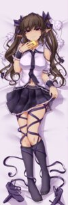 Rating: Safe Score: 51 Tags: dakimakura hater_(artist) himekaidou_hatate pointy_ears skirt_lift touhou User: Mr_GT