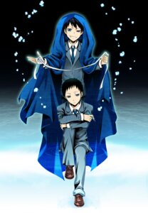 Rating: Safe Score: 4 Tags: durarara!! kuronuma_aoba male ryuugamine_mikado seifuku wool User: charunetra