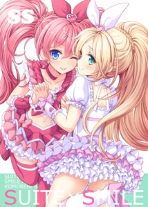 Rating: Safe Score: 57 Tags: houjou_hibiki minamino_kanade pretty_cure suite_pretty_cure thighhighs tokunou_shoutarou User: blooregardo