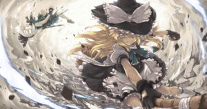 Rating: Safe Score: 33 Tags: abyss_of_parliament kirisame_marisa konpaku_youmu sword touhou witch User: blooregardo