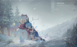 Rating: Safe Score: 11 Tags: cirno torn_clothes touhou wings zzz_(orchid-dale) User: Mr_GT