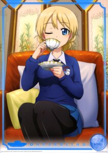 Rating: Safe Score: 16 Tags: darjeeling girls_und_panzer pantyhose seifuku sweater tagme User: drop