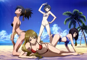 Rating: Questionable Score: 56 Tags: bikini cleavage hazaki_emiru izuriha_sasame kasumi_raika m3:_sono_kuroki_hagane swimsuits yuzuki_maamu User: drop