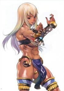 Rating: Questionable Score: 22 Tags: anarista armor f.s garter maebari queen's_blade underboob User: Konngara