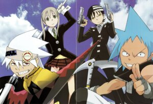 Rating: Safe Score: 7 Tags: black_star death_the_kid gap maka_albarn screening soul_eater soul_eater_(character) User: charunetra