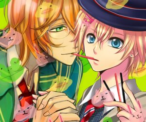 Rating: Safe Score: 2 Tags: kinoto kurusu_shou male megane shinomiya_natsuki uta_no_prince_sama User: charunetra