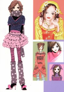Rating: Safe Score: 4 Tags: dress komatsu_nana lolita_fashion nana_(series) pantyhose torn_clothes yazawa_ai User: Davison