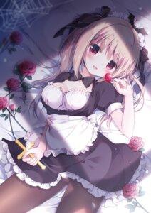Rating: Questionable Score: 28 Tags: cameltoe maid miyasaka_nako pantsu pantyhose skirt_lift User: Twinsenzw