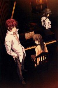 Rating: Safe Score: 12 Tags: kudou_sousuke pianissimo seifuku shirakawa_ayane sugina_miki tachibana_mikage thighhighs User: Hatsukoi