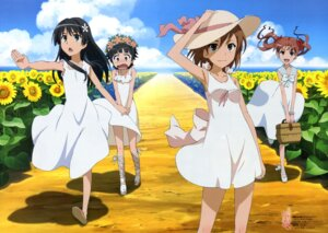 Rating: Safe Score: 45 Tags: dress misaka_mikoto motomura_kouichi saten_ruiko shirai_kuroko summer_dress to_aru_kagaku_no_railgun to_aru_majutsu_no_index uiharu_kazari User: drop