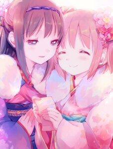 Rating: Safe Score: 37 Tags: akemi_homura kaname_madoka kimono puella_magi_madoka_magica yamada_ako User: Mr_GT