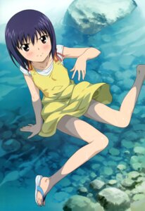 Rating: Safe Score: 30 Tags: dress kamisama_dolls kuga_utao morita_kazuaki summer_dress wet User: Jigsy