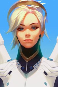Rating: Safe Score: 8 Tags: bodysuit mercy_(overwatch) overwatch rukiana wings User: charunetra