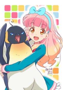 Rating: Safe Score: 13 Tags: aikatsu! aikatsu_friends! nii_manabu penguin yuuki_aine User: saemonnokami