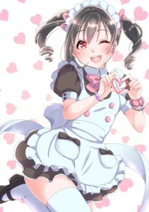 Rating: Safe Score: 15 Tags: love_live! maid tagme thighhighs yazawa_nico User: saemonnokami