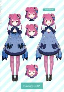 Rating: Safe Score: 13 Tags: character_design hololive kamikire_basami uruha_rushia yasuyuki User: Arsy